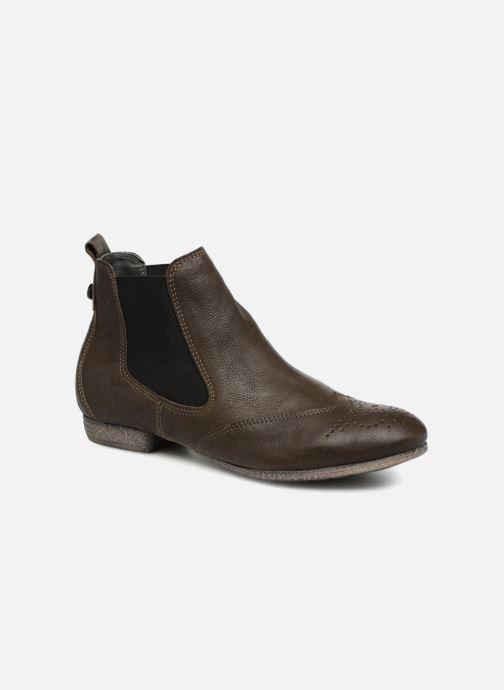 Bottines et boots Think! Ebbs 83136 Vert vue détail/paire