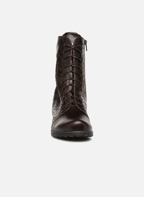Bottines et boots Think! Denk 83026 Marron vue portées chaussures