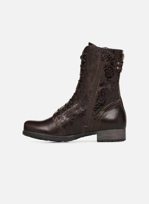 Bottines et boots Think! Denk 83026 Marron vue face