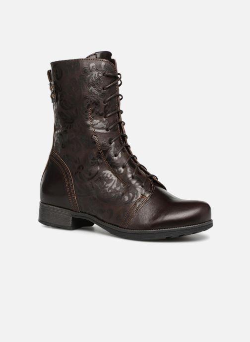 Bottines et boots Think! Denk 83026 Marron vue détail/paire
