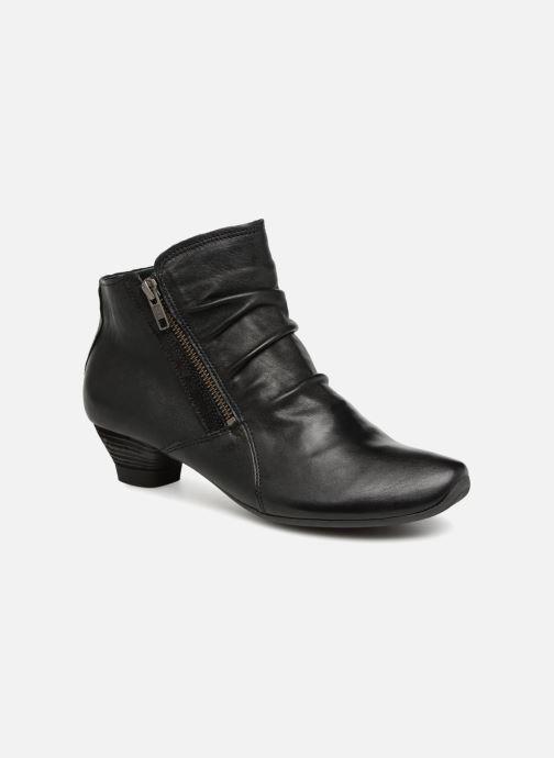 Ankelstøvler Think! Aida 83267 Sort detaljeret billede af skoene