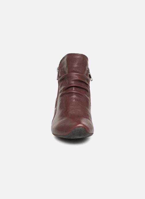 Bottines et boots Think! Aida 83267 Bordeaux vue portées chaussures
