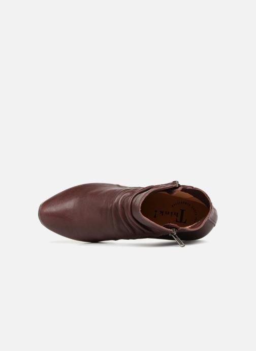 Bottines et boots Think! Aida 83267 Bordeaux vue gauche