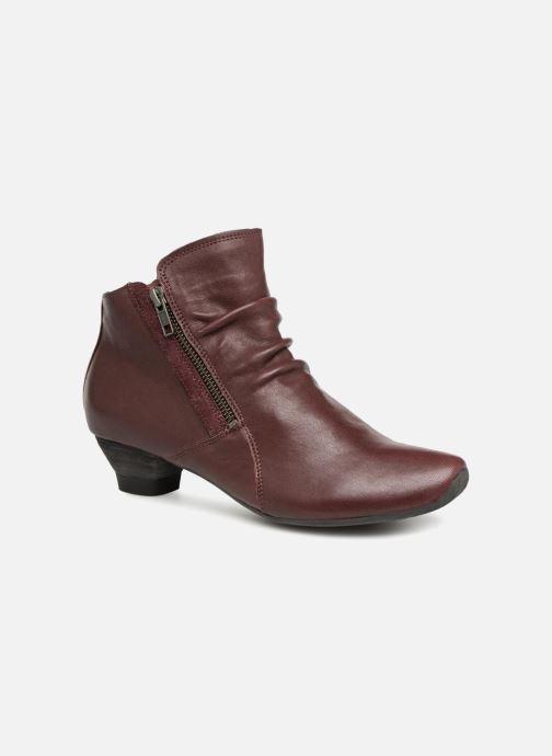 Ankelstøvler Think! Aida 83267 Bordeaux detaljeret billede af skoene