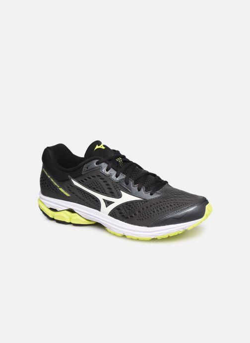 Chaussures de sport Mizuno Wave Rider 22 Gris vue détail/paire