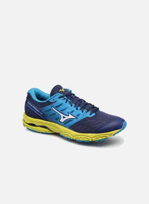 Chaussures de sport Mizuno Wave Prodigy 2 Bleu vue détail/paire