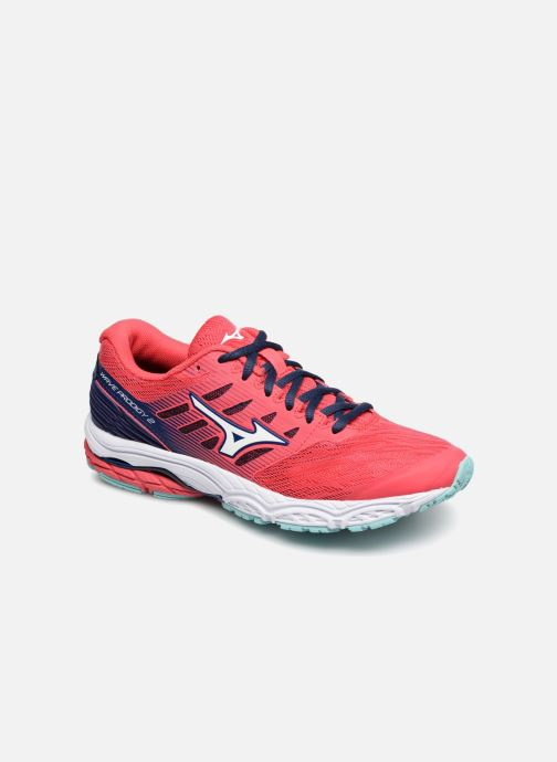 Sport shoes Mizuno Wave Prodigy 2 - W Pink detailed view/ Pair view