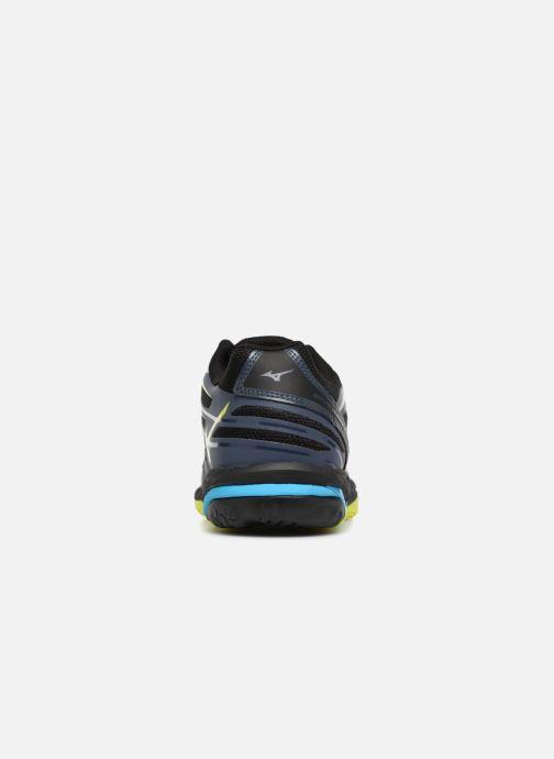 Chaussures de sport Mizuno Wave Hurricane 3 Noir vue droite