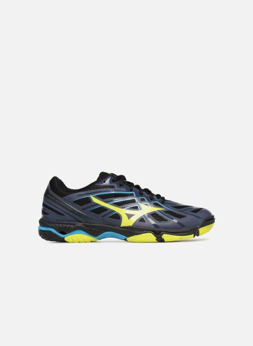Sport shoes Mizuno Wave Hurricane 3 Black back view