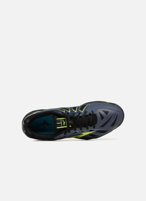 Sport shoes Mizuno Wave Hurricane 3 Black view from the left