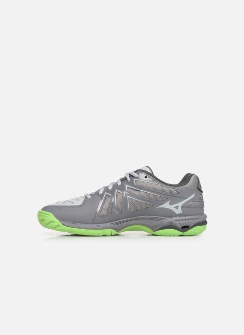 Chaussures de sport Mizuno Wave Hurricane 3 Gris vue face