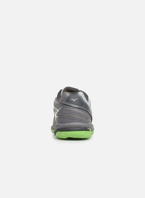 Chaussures de sport Mizuno Wave Hurricane 3 Gris vue droite