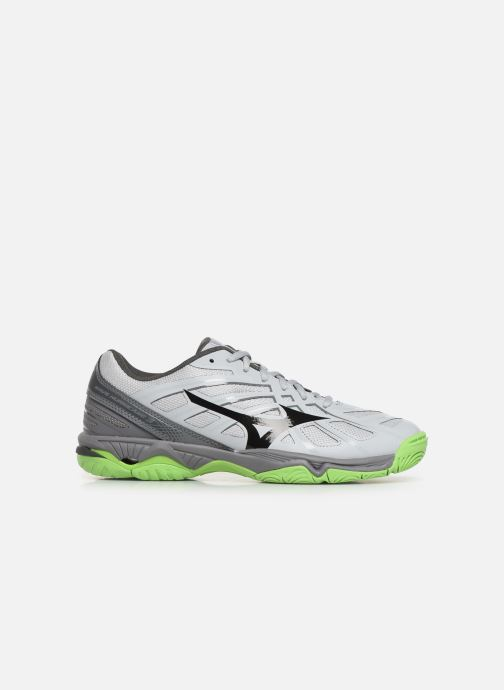 Chaussures de sport Mizuno Wave Hurricane 3 Gris vue derrière