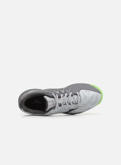 Chaussures de sport Mizuno Wave Hurricane 3 Gris vue gauche