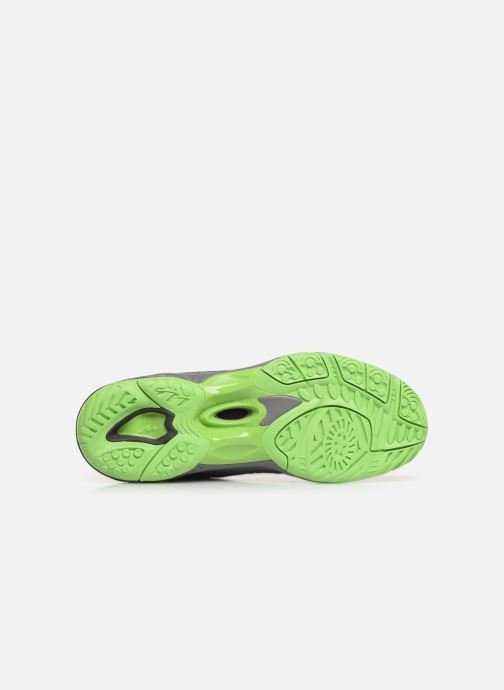 Chaussures de sport Mizuno Wave Hurricane 3 Gris vue haut