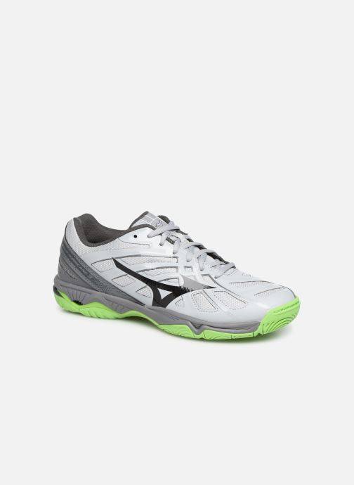 Chaussures de sport Mizuno Wave Hurricane 3 Gris vue détail/paire