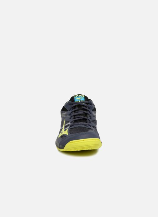 Chaussures de sport Mizuno H - THUNDER BLADE Noir vue portées chaussures