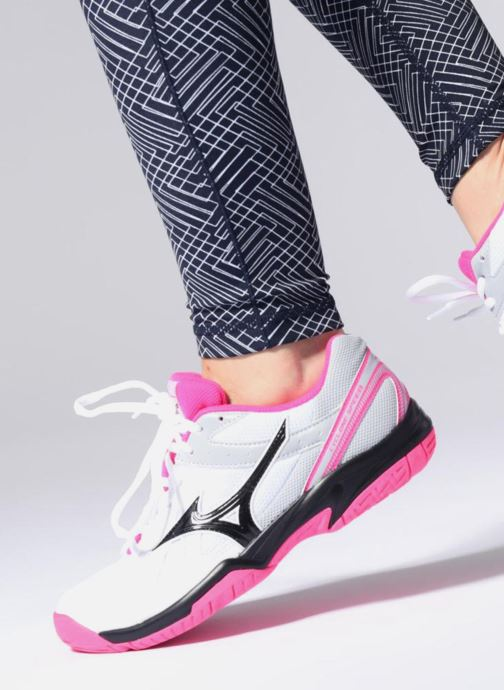 Sport shoes Mizuno Cyclone Speed - W White view from underneath / model view