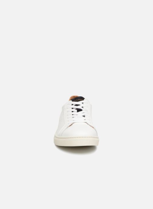 Baskets Selected Homme SLHDAVID CONTRAST SNEAKER Blanc vue portées chaussures