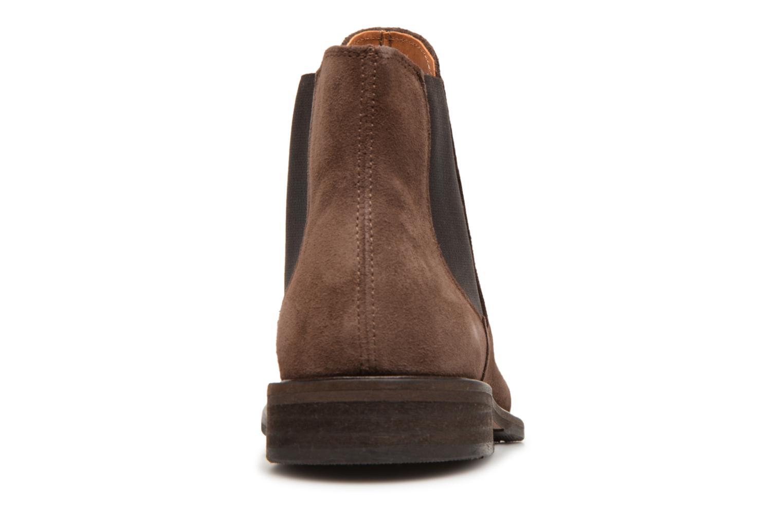 Bottines et boots Selected Homme SLHBAXTER CHELSEY SUEDE Marron vue droite