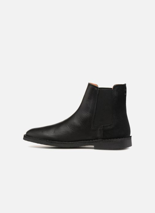 Bottines et boots Selected Homme SLHROYCE CHELSEY MIX BOOT Noir vue face