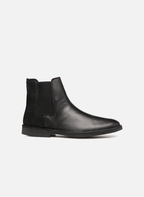 Bottines et boots Selected Homme SLHROYCE CHELSEY MIX BOOT Noir vue derrière
