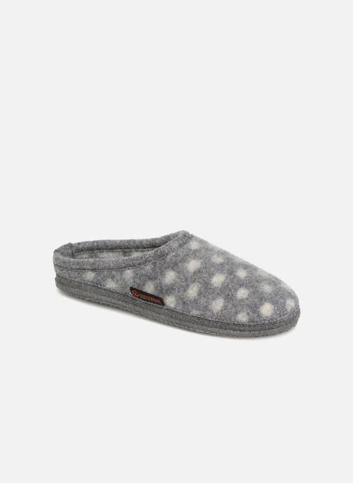 Hjemmesko Giesswein NEUENSTEIN Grå detaljeret billede af skoene