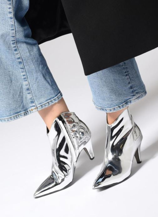 Stiefeletten & Boots Rebecca Minkoff Pamela silber ansicht von unten / tasche getragen