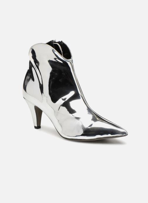 Boots en enkellaarsjes Rebecca Minkoff Pamela Zilver detail