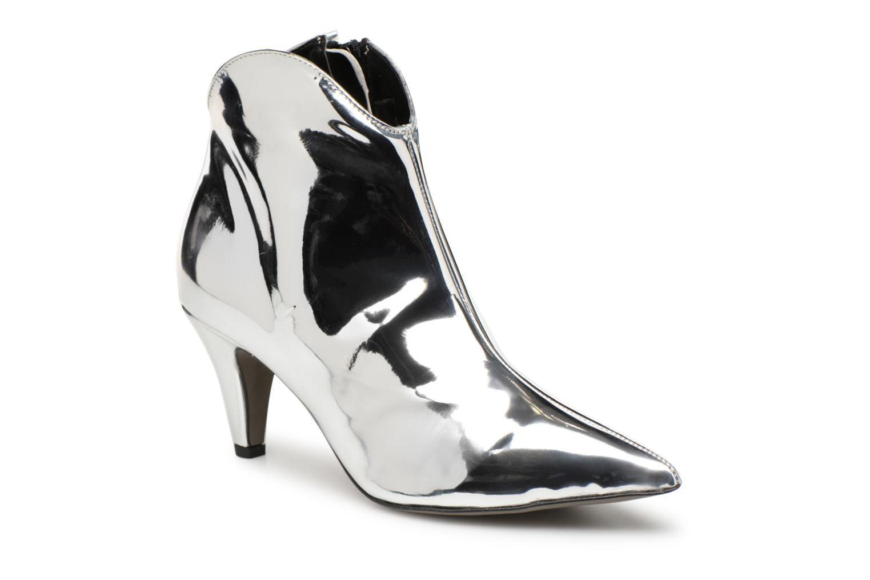 Bottines et boots Rebecca Minkoff Pamela Argent vue détail/paire