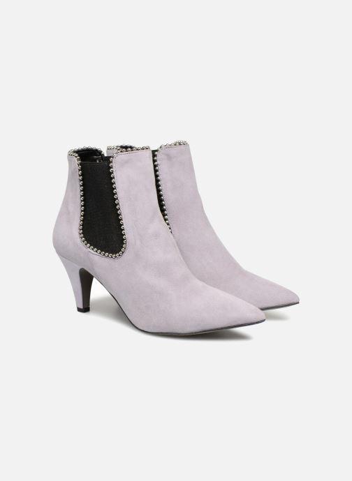 Ankle boots Rebecca Minkoff Prue Purple 3/4 view