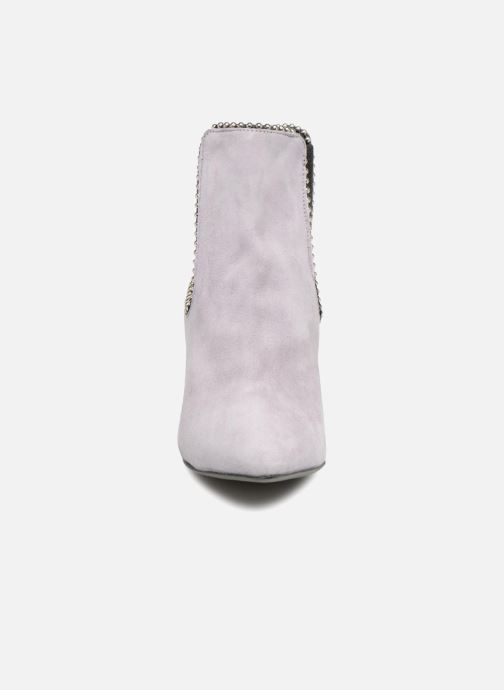 Bottines et boots Rebecca Minkoff Prue Violet vue portées chaussures