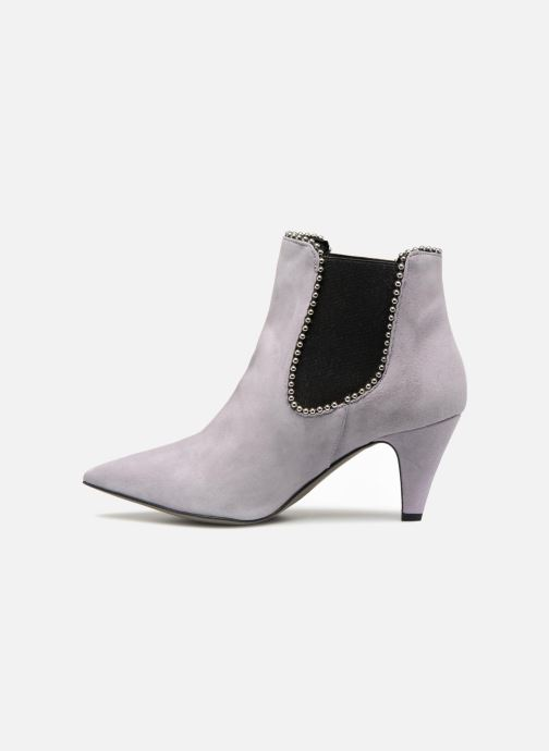Ankle boots Rebecca Minkoff Prue Purple front view