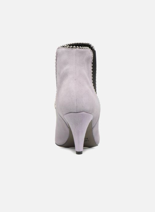Ankle boots Rebecca Minkoff Prue Purple view from the right
