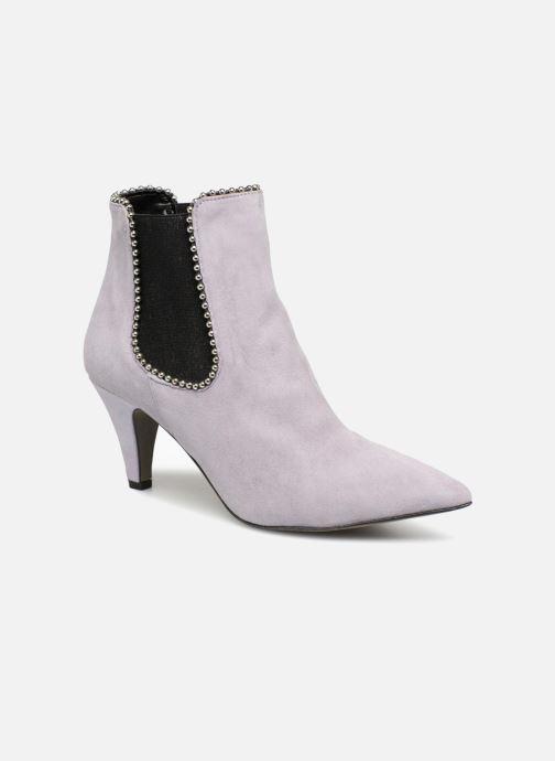 Bottines et boots Rebecca Minkoff Prue Violet vue détail/paire
