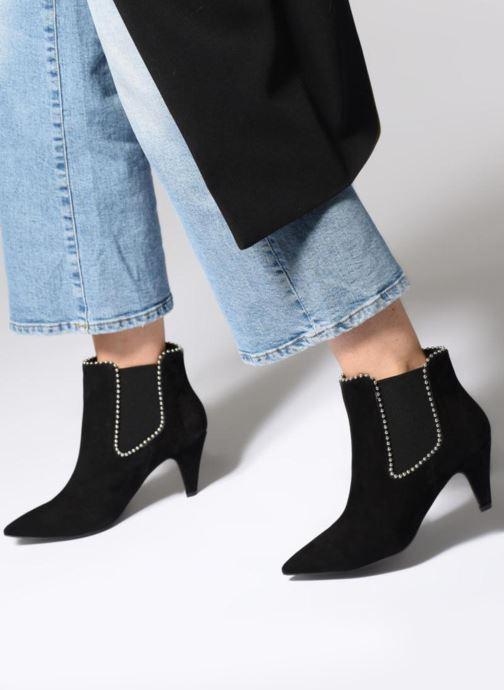 Bottines et boots Rebecca Minkoff Prue Noir vue bas / vue portée sac