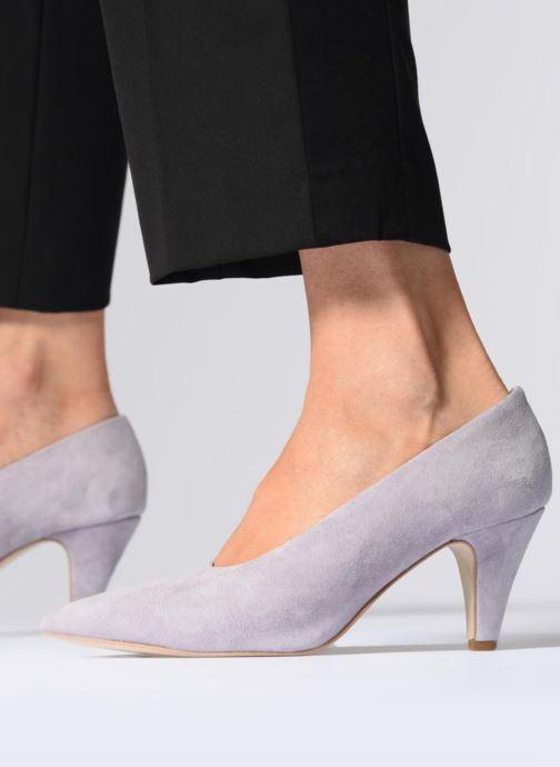 Zapatos de tacón Rebecca Minkoff Paola Violeta      vista de abajo