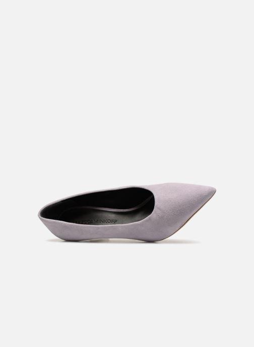 Zapatos de tacón Rebecca Minkoff Paola Violeta      vista lateral izquierda