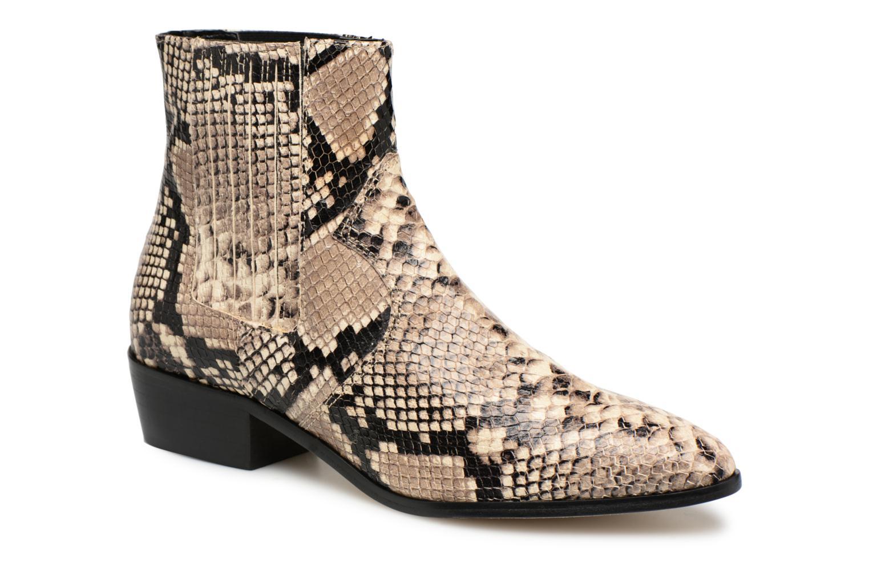 Ankelstøvler Rebecca Minkoff Valentina Grå detaljeret billede af skoene