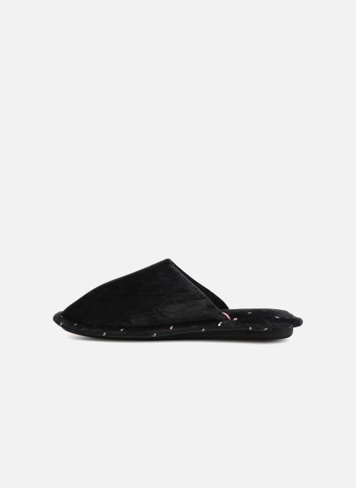 Slippers Dim D LIBAROS Black front view