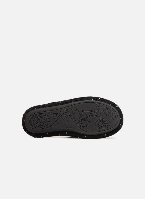 Pantoffels Dim D LIBAROS Zwart boven