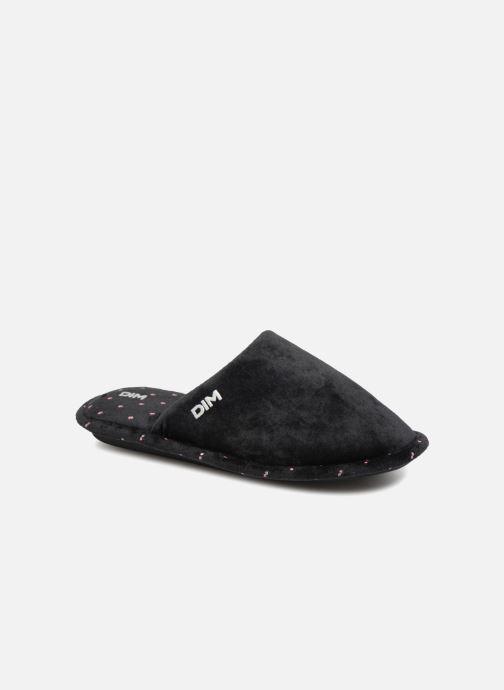 Pantoffels Dim D LIBAROS Zwart detail