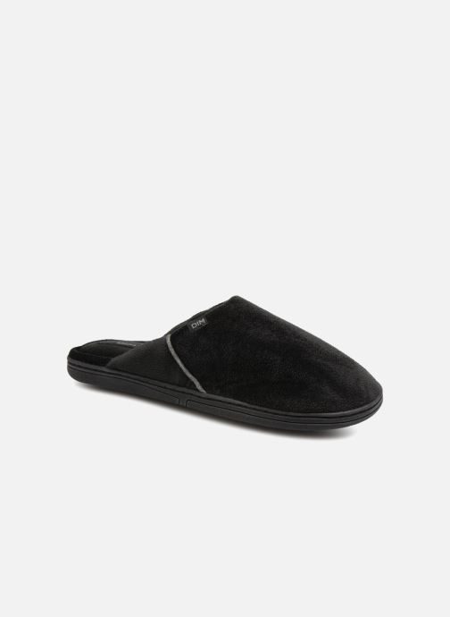 Slippers Dim D LIBER C Black detailed view/ Pair view