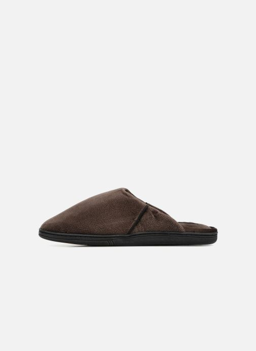 Slippers Dim D LIBER C Brown front view