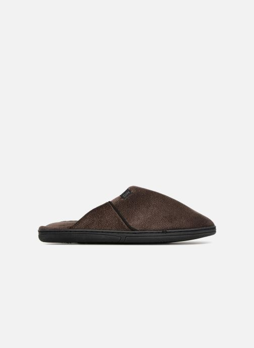 Slippers Dim D LIBER C Brown back view