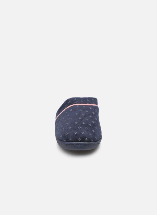 Pantuflas Dim D LIO Azul vista del modelo