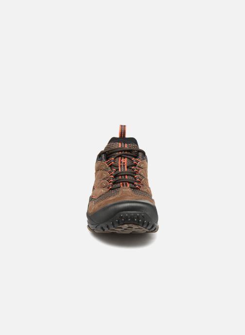 Chaussures de sport Merrell CHAMELEON 7 GTX Marron vue portées chaussures