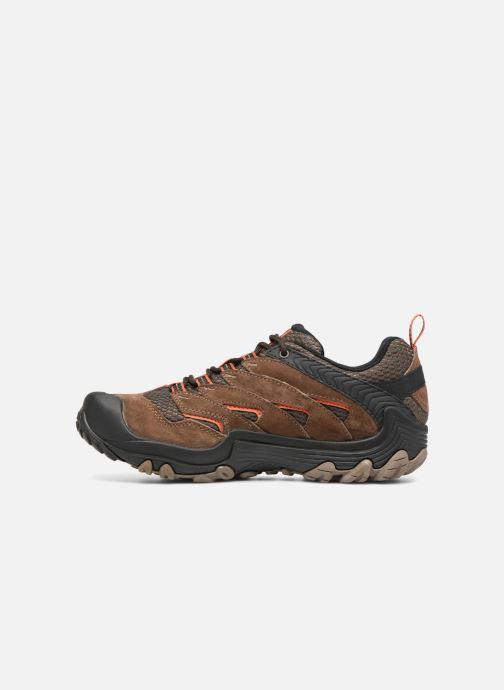 Chaussures de sport Merrell CHAMELEON 7 GTX Marron vue face