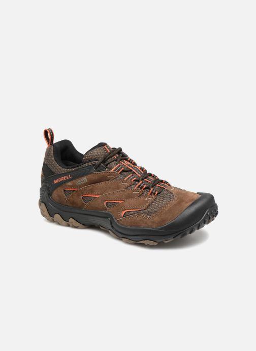 Chaussures de sport Merrell CHAMELEON 7 GTX Marron vue détail/paire