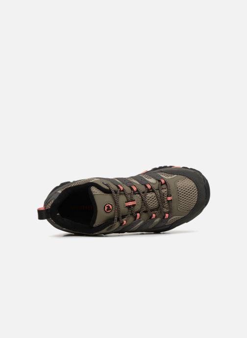Chaussures de sport Merrell MOAB 2 GTX W Vert vue gauche